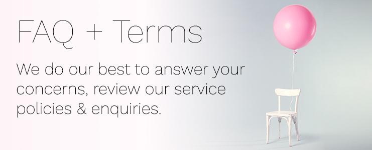 FAQ + Terms